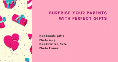Surprise your parents With Perfect Gifts