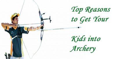Kids into Archery