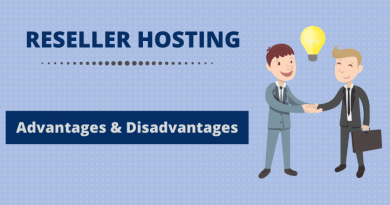 reseller hosting disadvantages advantages