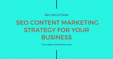 SEO Content Marketing Strategy