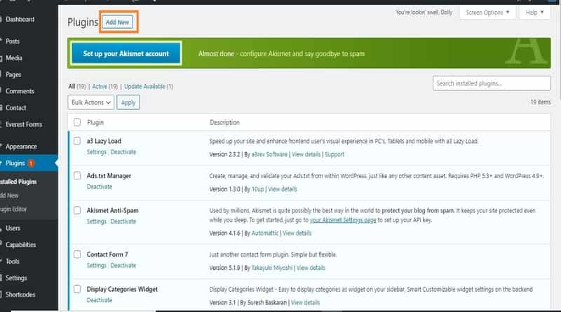 Upload WordPress Plugin